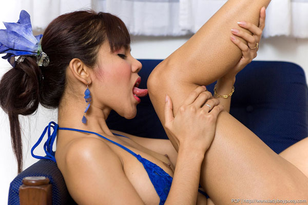 taugust1509c Post Op Ladyboy Pop Shows Off on Ladyboy Pussy!