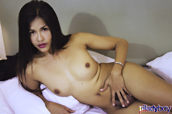 tjuly2809c Ladyboy Maya Channels a Certain Other Long Haired Girl on PiLadyboy!
