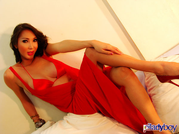 t khei young piladyboy 01 Filipino Shemale Khei Youngs Stunning Shoot On PiLadyboy!